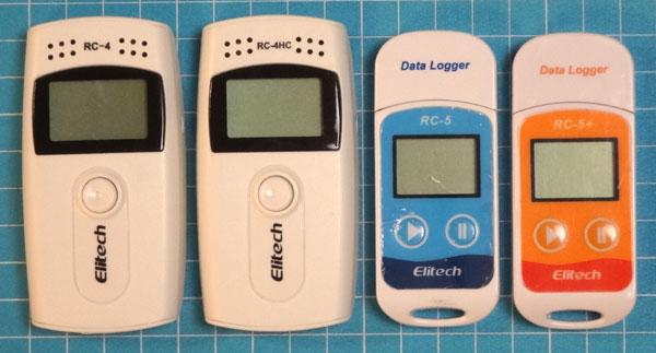 温度データロガー・RC-5、RC-5+、RC-4、RC-4HC